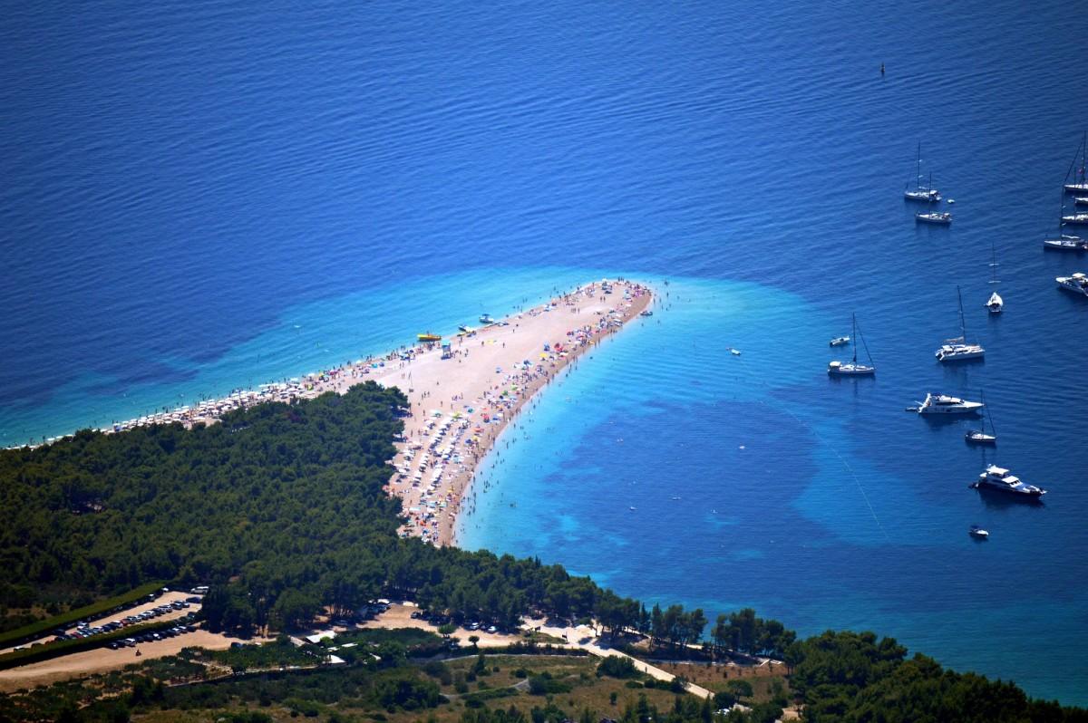 Strand Bol Kroatie