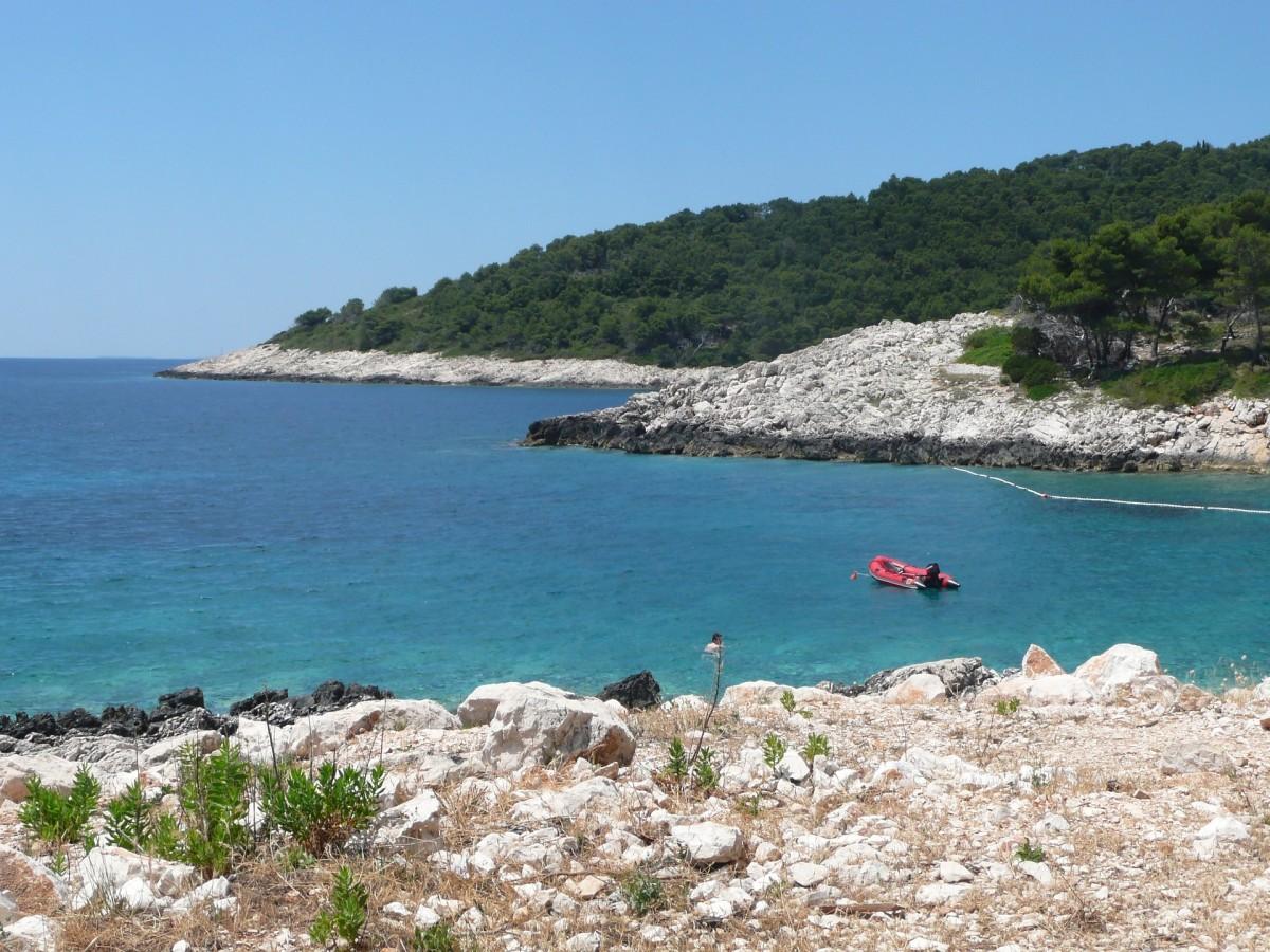 nationaal park Mljet, Kroatie