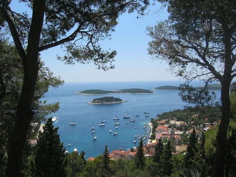 Eiland Hvar, Kroatie