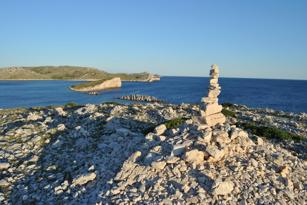 Kornati archipelago Kroatie