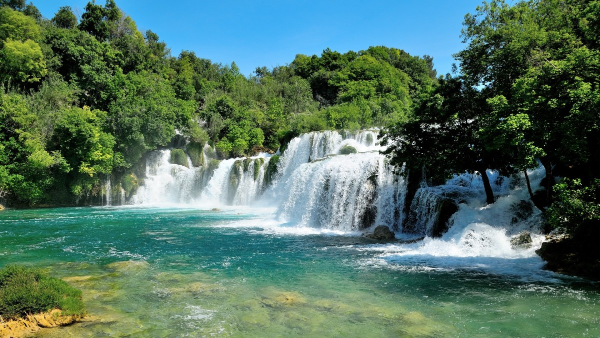Nationaal park Krka in Kroatie