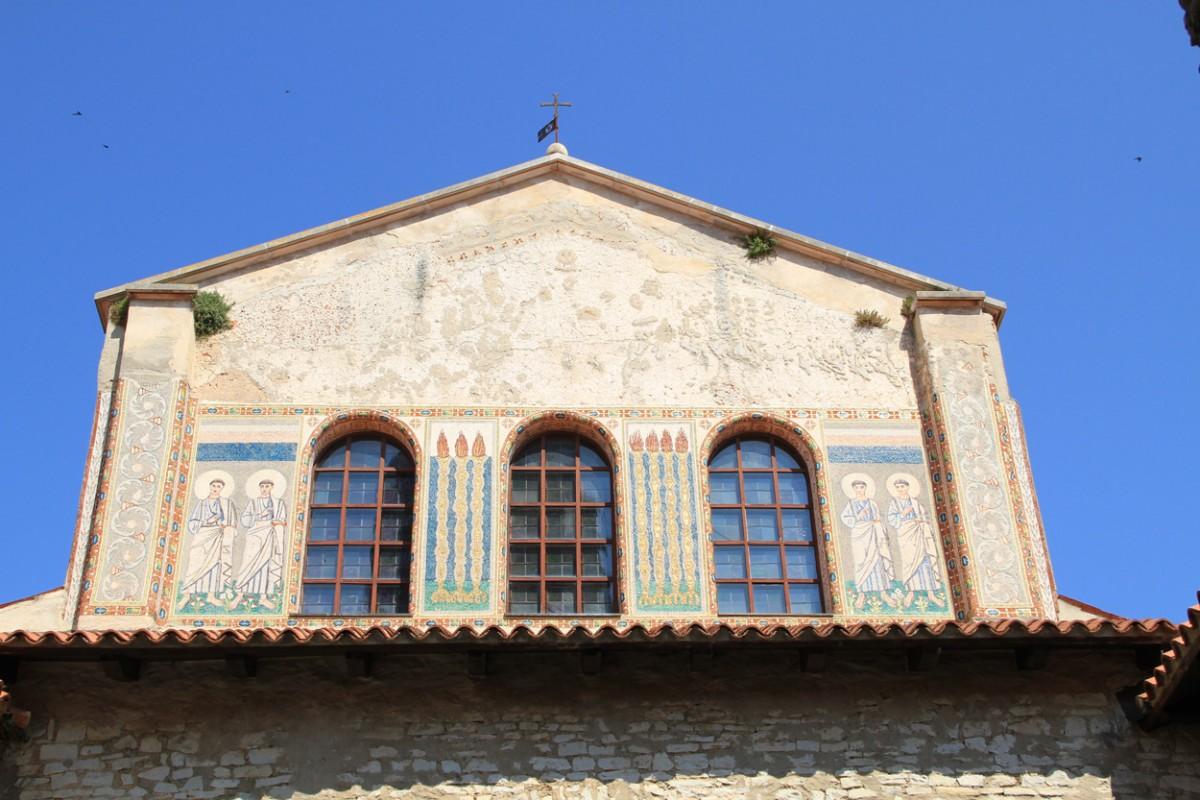 Kathedraal van Porec, Istrie, Kroatie