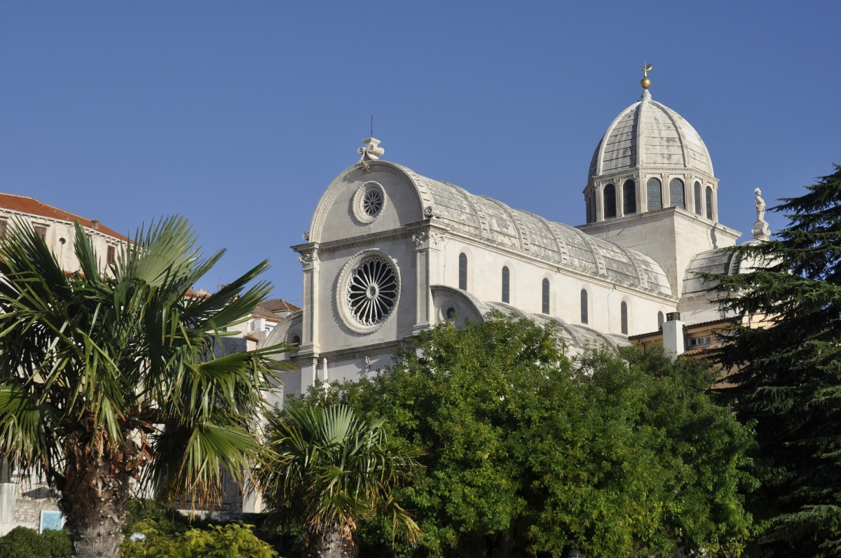 Kathedraal van Sibenik, Kroatie
