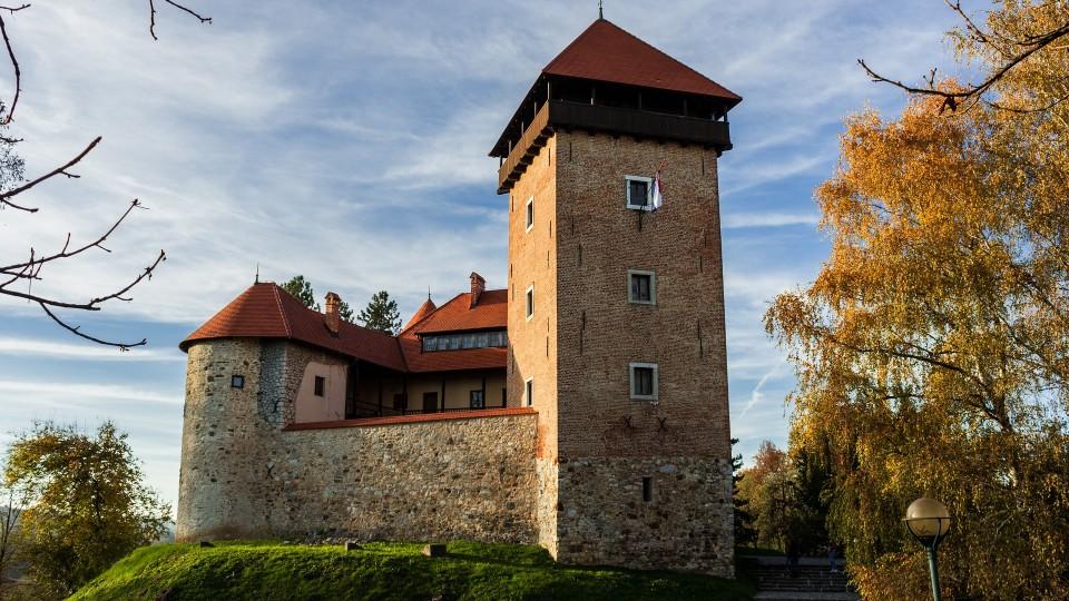 kasteel van Karlovac, Kroatie