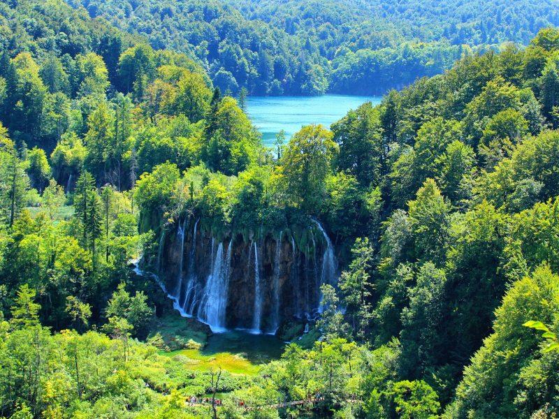 Meren van Plitvice in Kroatie