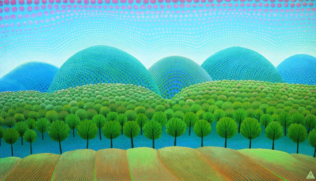 Ivan Rabuzin 'On the Hills - Primeval Forest' 1960