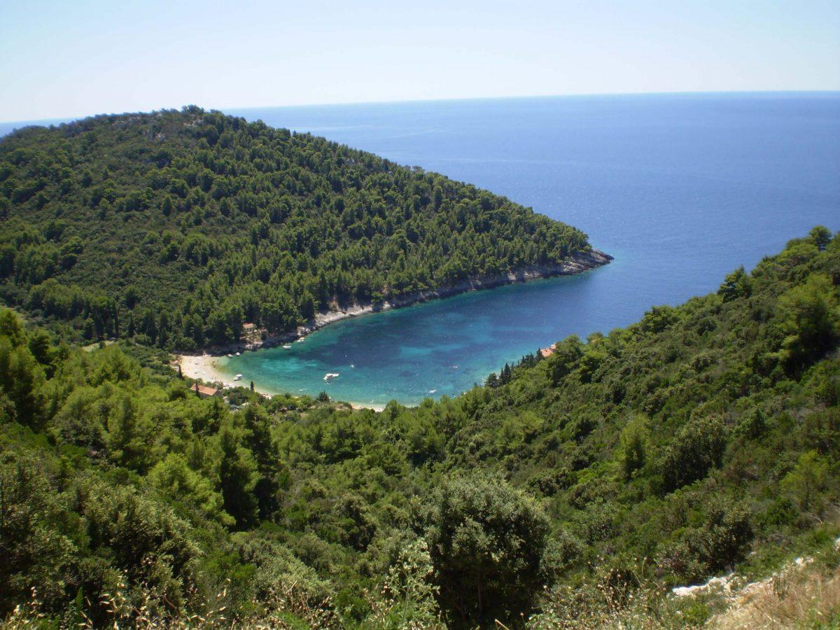 Pupnatska uvala island Korcula, Croatia