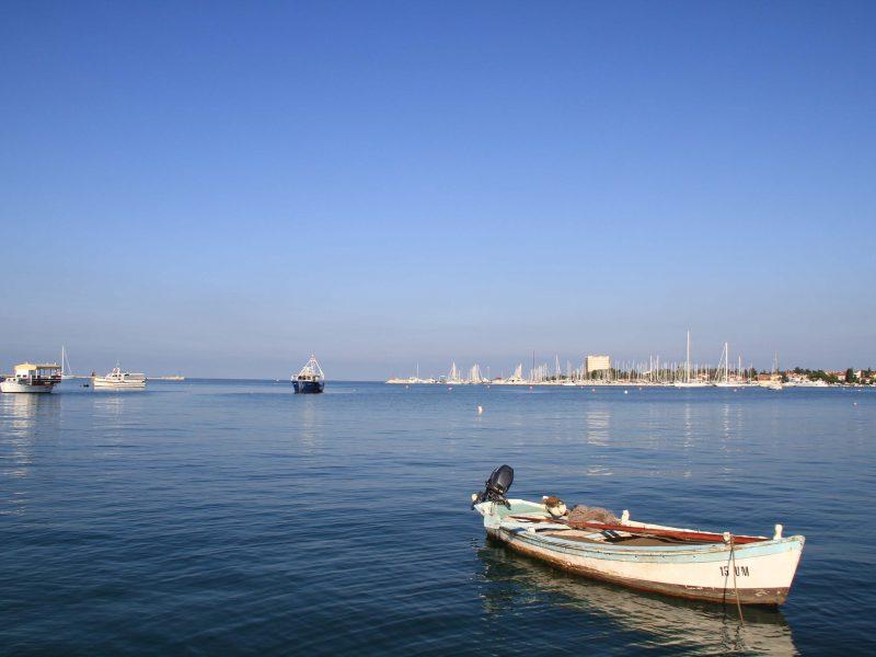Harbour of Umag, Croatia