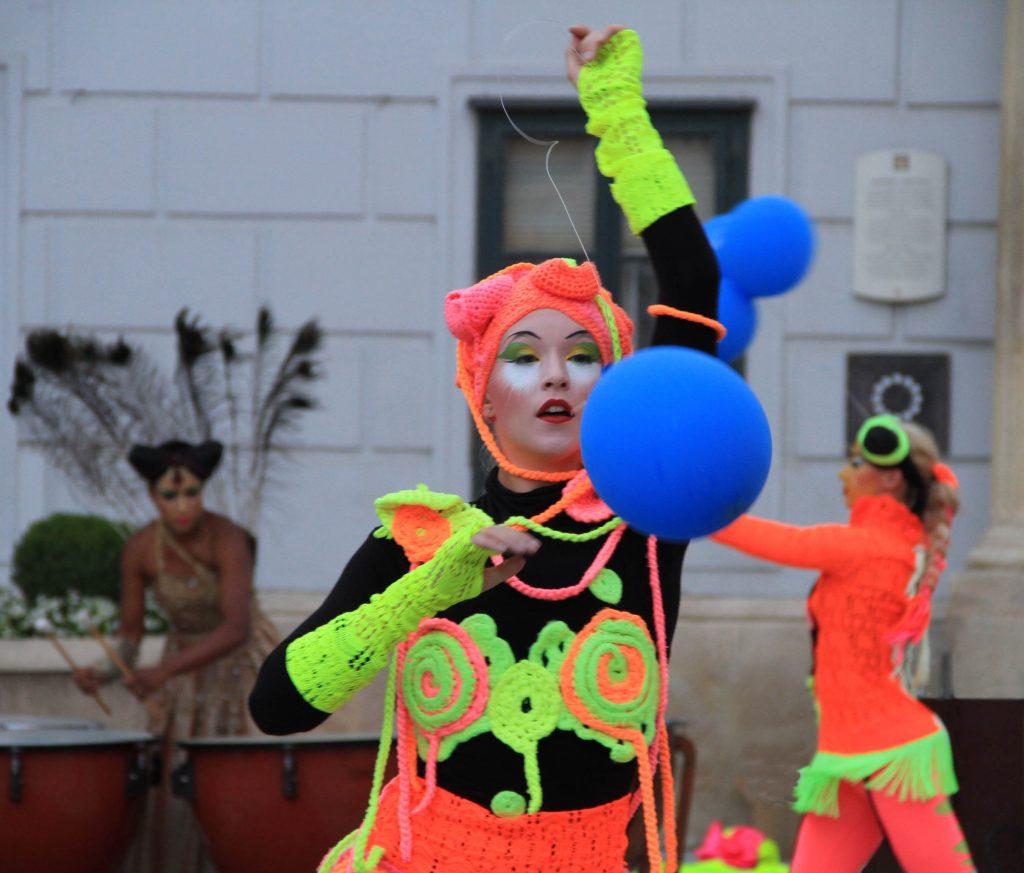 Street performance - Spancirfest 2016, Varazdin in Croatia
