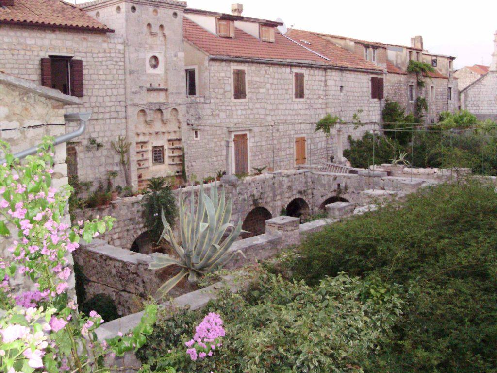 Fort of Petar Hektorović, Stari Grad, island Hvar, Croatia