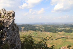 Panoramic view from Cevo, Varazdin, Croatia