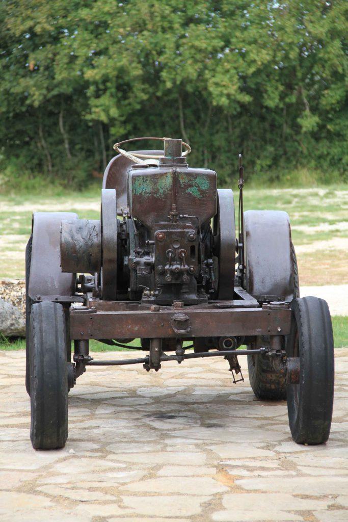 Baredine tractor, Istria Croatia
