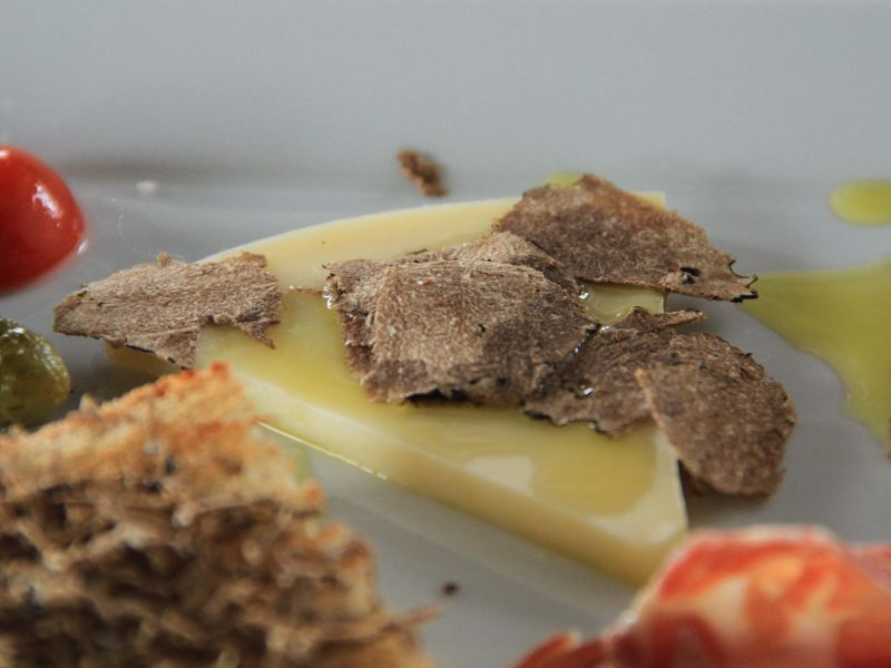 Istrian cheese with truffels