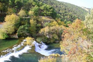 Autumn in National park Krka, Croatia