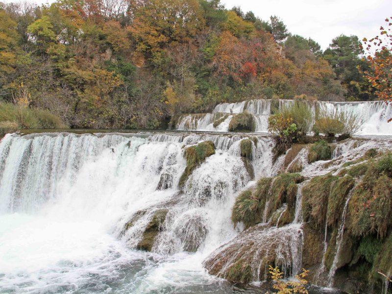 Autumn in National park Krka, Croatia