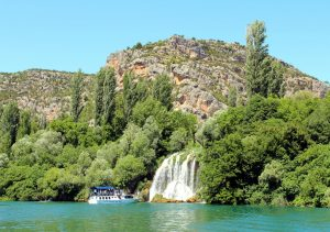 Roski slap - waterfall NP Krka, Croatia