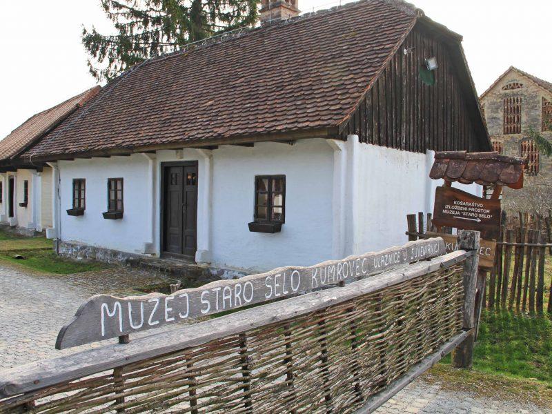 Kumrovec, open air museum 'Staro selo'