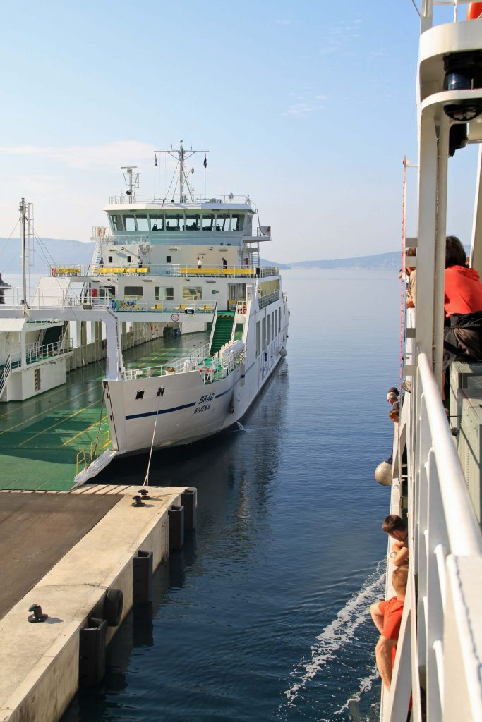Ferry in Croatia