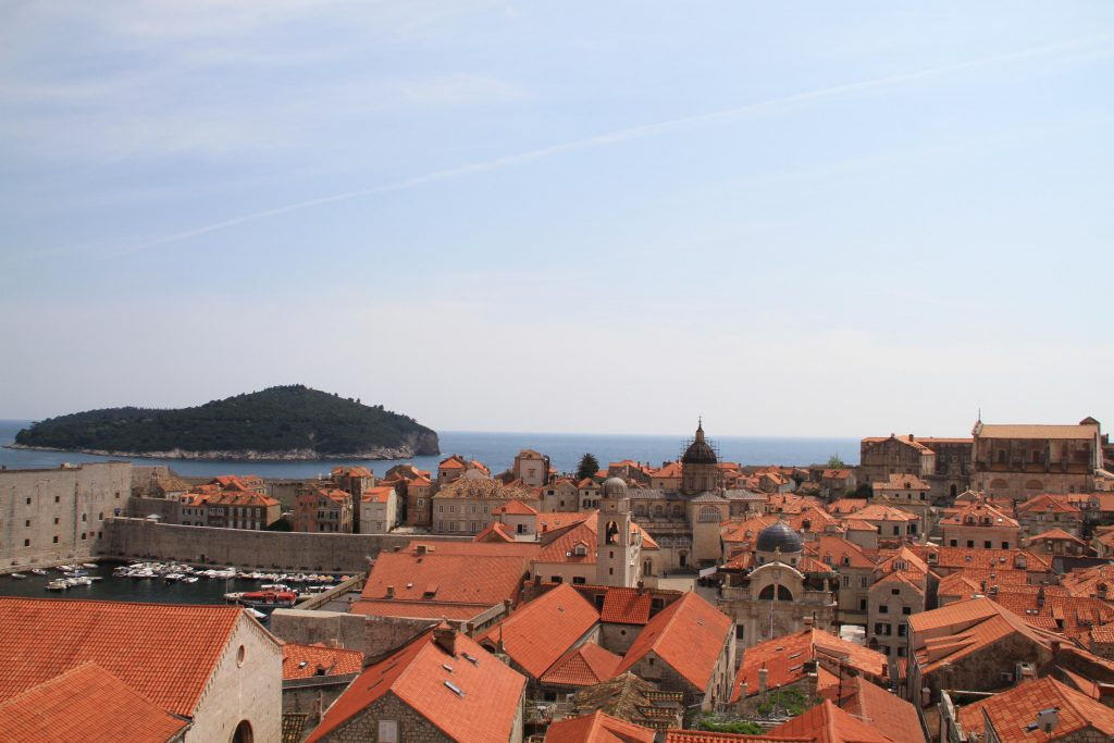 Dubrovnik view from city wall