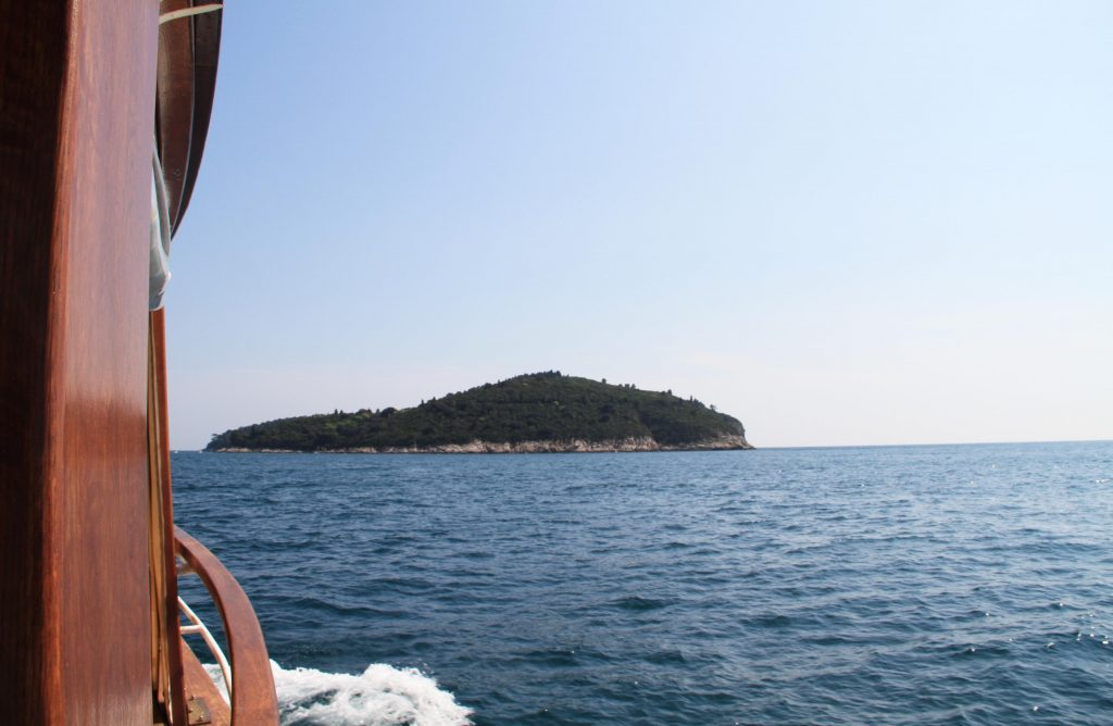 Boat trip to Lokrum from Dubrovnik