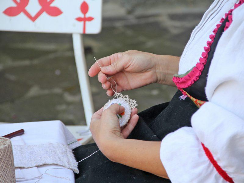 Festival Varaždinskih dvorišta - traditional handcraft