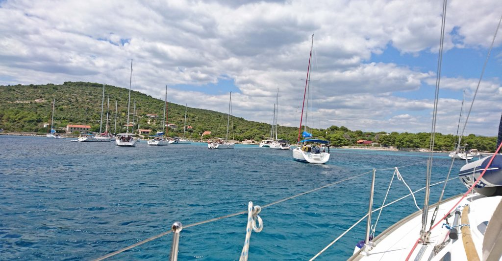 Sailing - Croatian Adriatic sea