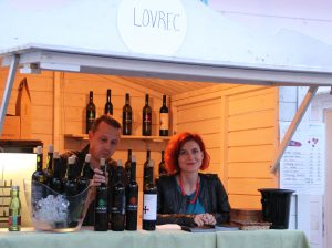 Lovrec - croatian wine from Medjimurje